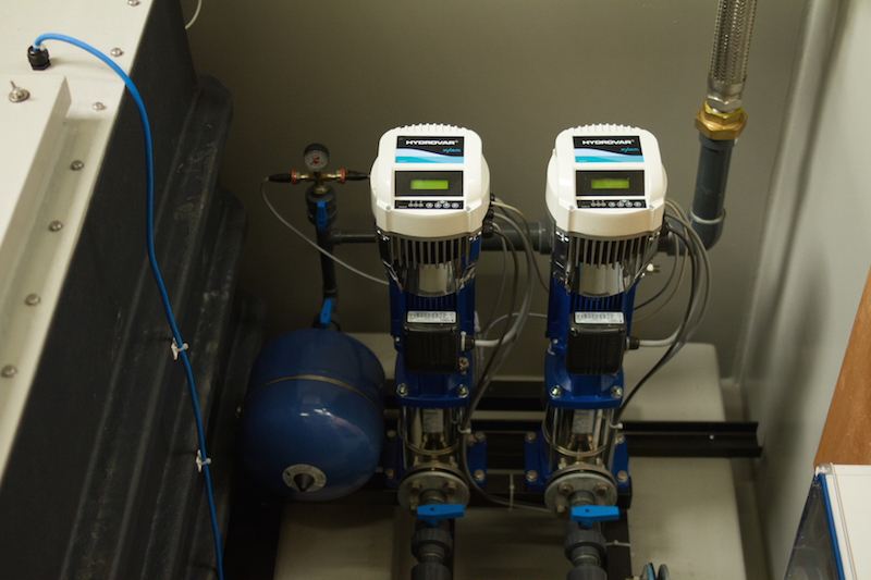 boosted water systems