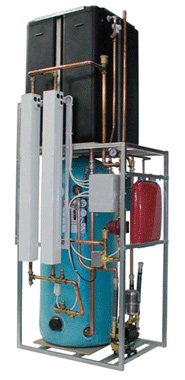 Complete packaged plumbing units